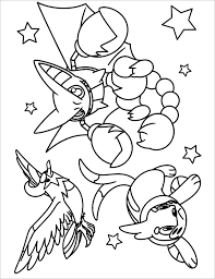Pokemon Coloring Gallery Of Art Pages Pdf