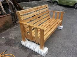 Wooden Pallet Sitting Bench Plans