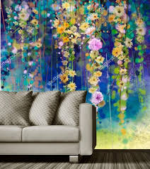 custom vintage blumentapete abstrakte blumenkunst aquarell tapete papel de parede wohnzimmer tv sofa wand schlafzimmer wandbild