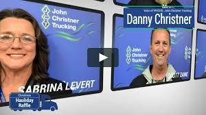 100 John Christner Trucking Christmas Hauliday V2 On Vimeo