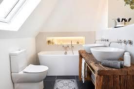 badezimmer im klassisch modernen landhausstil farmhouse