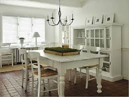 Painted Dining Room Table Chalk Paint Kitchen And Chairs On White