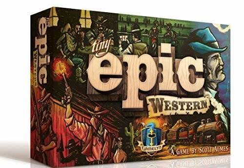 Tiny Epic Western Board Game