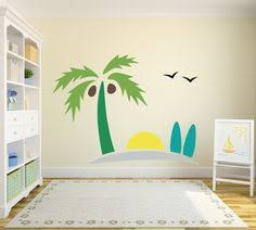 Beach Decals For Walls Wall Decal Sand Sun And Surfboards Nursery Playroom Of Bedroom