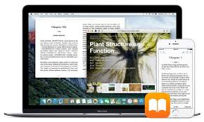 iBooks Sync iPhone iPad and Mac View Sync Print and Save