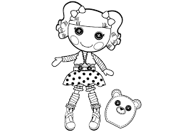 Mittens Lalaloopsy Coloring Pages