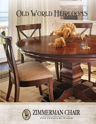 ZIMMERMAN CHAIR OLD WORLD COLLECTION / SHORE CASUAL / DINING ...
