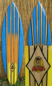 Decorative Surfboard Wall Art by The Warrior From Our New