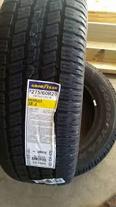 100 Goodyear Wrangler Truck Tires 27560R20 Brand NEW 20 Inch For Sale In Dallas