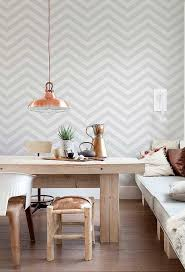 Wallpaper With Chevron Pattern For Living Room