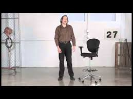 Extended Height Office Chair by Safco Metro Extended Height Chair 3442bl U0026 3442gr Youtube