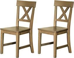 2er set stuhl landhaus esszimmerstuhl küchenstuhl essstuhl lehnstuhl holzstuhl küche esszimmer kiefer massivholz gebeizt