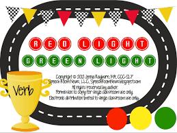 Light Verb by Red Light Green Light Speech Room News