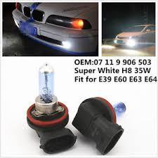 white h8 35w xenon hid halogen fog light light bulbs