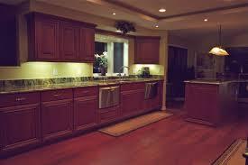 interior installing cabinet led lighting