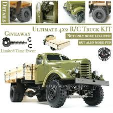 100 4x2 Truck KingKong RC 112 Scale Soviet Zis150ca10 With Metal