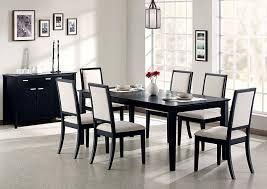 Lexton Black Dining Table W 4 Side ChairsCoaster Furniture