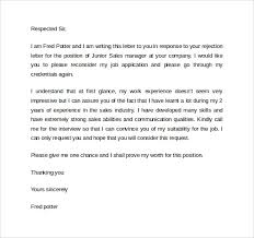 Rejection Letter After Interview Letters Font