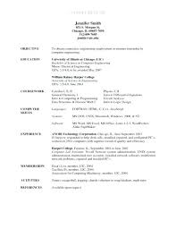 Resume References Example Reference In