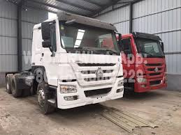 100 Cheap Semi Trucks For Sale By Owner China HOWO Original Condition Used 371HP 375HP 420HP Tractor