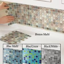 Smart Tiles Mosaik Multi by Amazon Com Mosaic Peel U0026 Stick 10