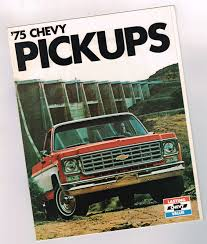 1975 CHEVY PICKUP Truck Brochure / Catalog With Color Chart: C10,C20 ... 1975 Chevy Blazer With A 7374 Grille Blazers Broncos Vans Chevy Pickup Truck Brochure Catalog Color Chart C10c20 C60 Pulpwood Truck Jredding666 Flickr C65 Tag Axle And 20 Grain Body 4x4 6 6l 400 V8 Scottsdale K10 Great Running Cdition C20 Chevrolet Truck Cheyenne Camper Special For Sale In 2011 Silverado Reviews Rating Ideas Of C Homegrown K5 The Final Year Full Convertible Types C10 Wiring Diagram Wire Center 1985 Luv Classic Pickup Restoration Complete Doug Jenkins