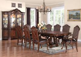 Captain Chairs For Dining Room Table by Dining Room Set With China Hutch Formal Sets And Buffet Table