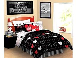 Mickey Mouse Clubhouse Bedroom Set by Bedroom Exciting Popular Mickey Mouse Comfort Bedding Set Full