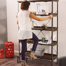 Threshold Campaign Desk Dimensions by Emerson Shelving World Market