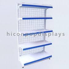 China Grocery Store Retail Gondola Shelving Units 4 Tier Free Standing Supplier