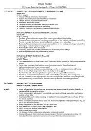 Implementation Business Analyst Resume Samples Velvet Jobs Sample As Image File Example Of Senior Ag