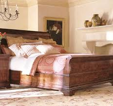 sleigh bed king from the cavalier collection by henredon furniture