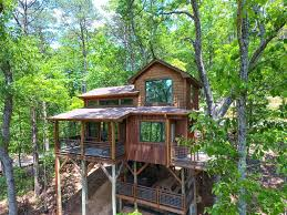 100 Tree Houses With Hot Tubs Canopy Blue Luxury House Hot Tub Fire Pit Swing Bed Amazing