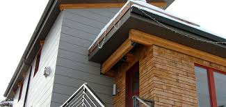 104 Contemporary Cedar Siding Lee Edwards Residential Design A Major Modern Remodel Using Shingles With Woven Corners Exposed Fir Beams Powder Coated Hardware And Reclaimed Fir Windows