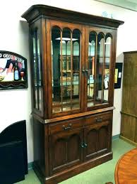 Small China Cabinet Great But Splendid Dining Room With Stunning