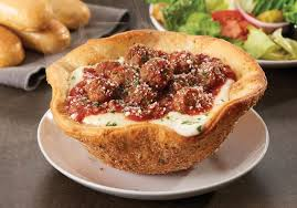Olive Garden Adds New Meatball Pizza Bowl to Lunch Menu
