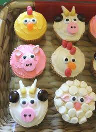 Easy Farm Animal Cupcakesthese Are The BEST Cupcake Ideas
