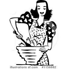 Royalty Free RF Cooking Clipart Illustration by BestVector