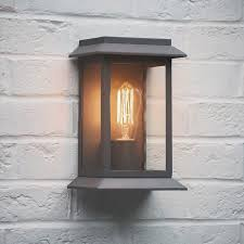 outdoor wall mounted grosvenor porch light in charcoal outdoor
