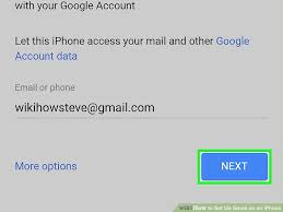 How to Set Up Gmail on an iPhone with wikiHow