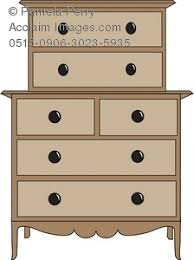 bureau clipart bedroom chest of drawers royalty free clip picture