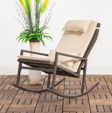 Longshore Tides Tremberth Outdoor Rocking Chair With Cushion ... Woven Rope Midcentury Modern Rocking Chair And Ottoman At 1stdibs Polywood Presidential Rocker With Seat Back Classic Outdoor Wicker Off The A Brief History Of One Americas Favorite Chairs Cracker Barrel Spring Haven Brown Allweather Patio Polywood Jefferson Recycled Plastic Cushions Accsories White Veranda Balcony Deck Porch Pool Beach Allen Roth Belsay Dark Steel Tortuga Portside Wickercom Solid Wood Fntiure