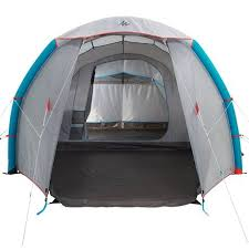 tente 4 places 2 chambres seconds family 4 2 xl quechua tente de cing familiale air seconds family 4 1 xl 4 personnes