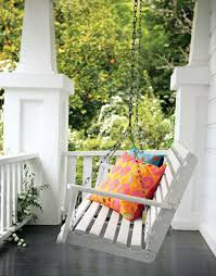 Beautiful Porch Of The House by Things We Porch Swings Design Chic Design Chic