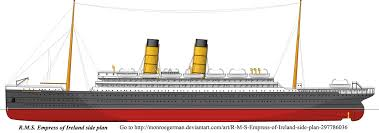 canadian pacific rms empress of ireland 1906 to 1914 sunk by the