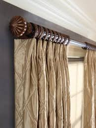 Wooden Decorative Traverse Curtain Rods by Decorative Traverse Curtain Rod Rooms In Beautiful Decorative