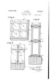 Home Decor Liquidators Pittsburgh Pa by Patent Us2239537 Glass Block Mounting Google Patents