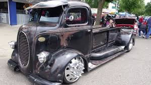 100 Mid Engine Truck 1938 Ford COE Mid Engine Custom With Air Ride Dually Alcoa 10 Lugs