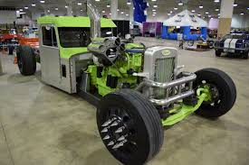 A Cummins-powered Peterbilt Rat Rod Semi?? That's Maybe The Best Way ...