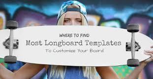 Pintail Longboard Deck Template by Longboard Template Eliolera Com